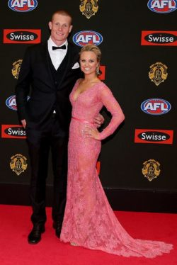 Izzy Daniels and Sam Jacobs on the 2015 Brownlow Red Carpet