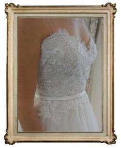 Bodice lace detail Paige