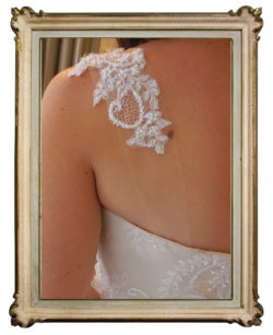 Lace back detail Paige