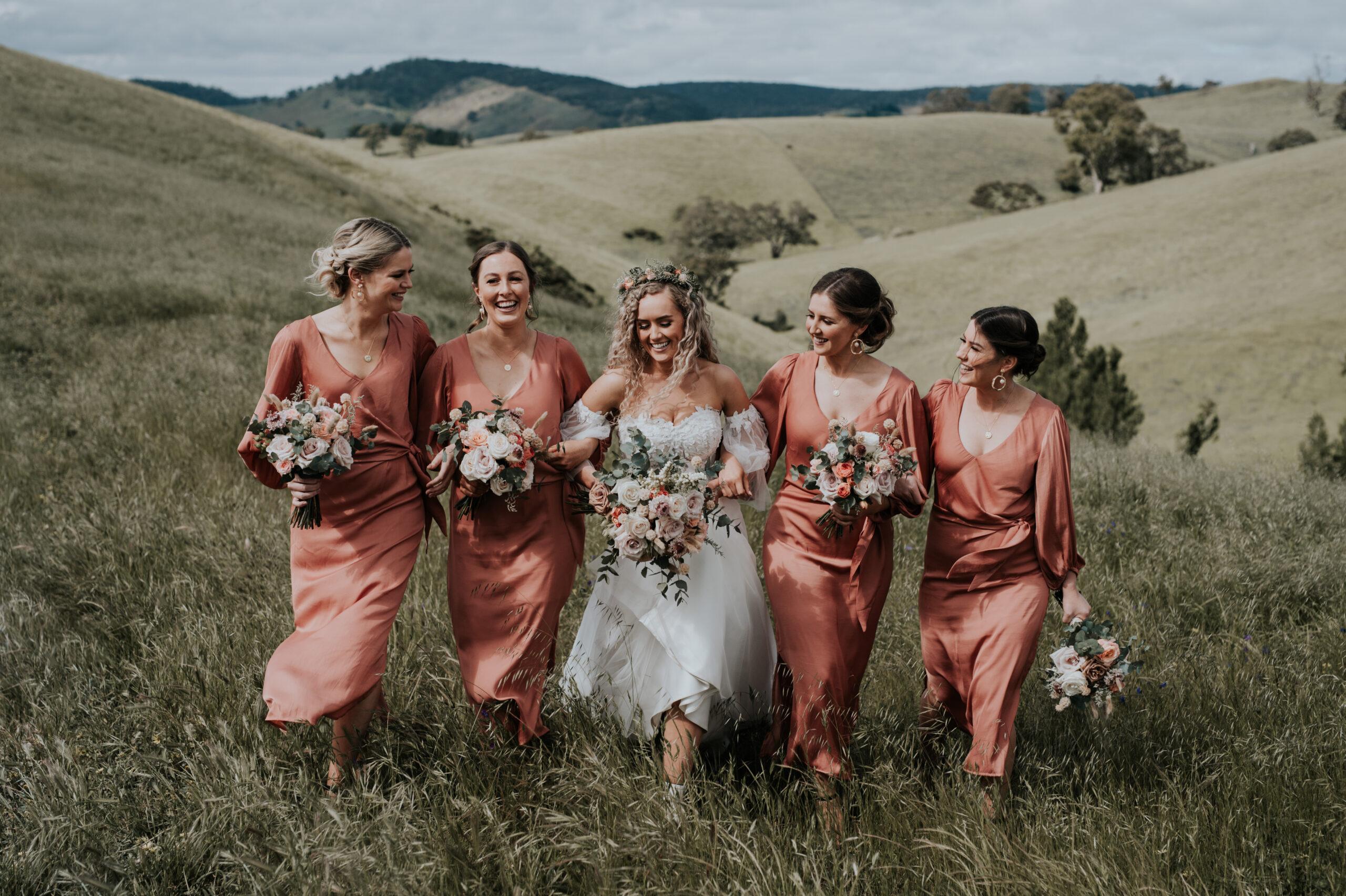 Brooke and bridesmaids
