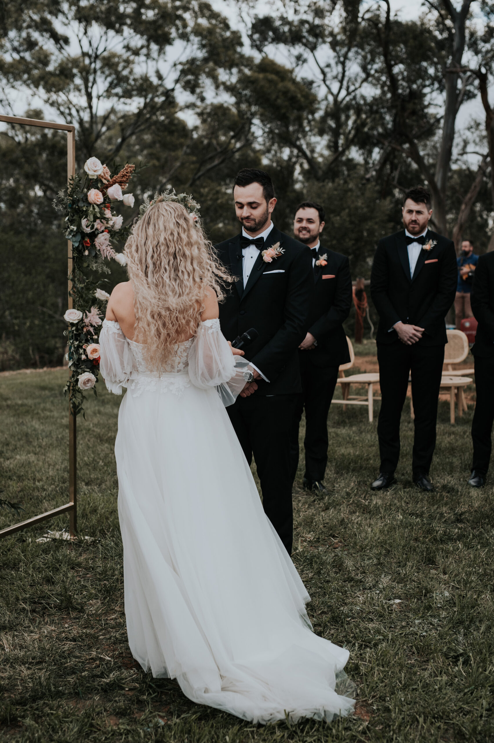 Brooke and Cam ceremony
