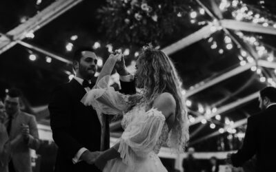 Brooke and Cam dancing