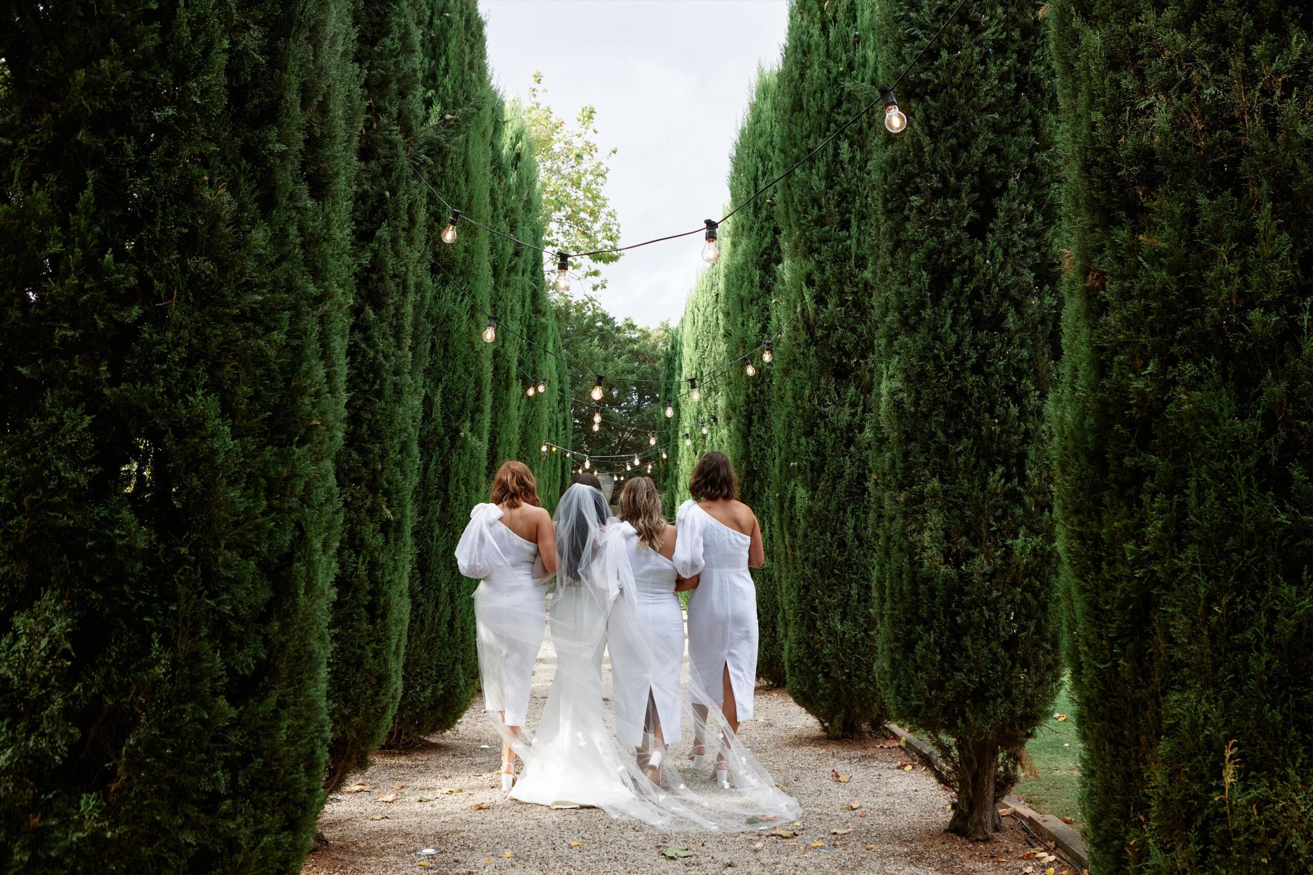 Jenna and Bridesmaids